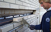 Shelf Angle Flashing & Masonry Repair