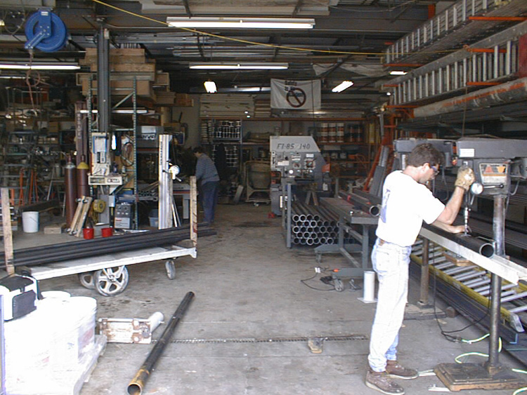 Tower Fabrication Services : Design installation systems